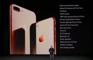 iphone 8 features iphone 8 and iphone 8 plus features designed to be premium