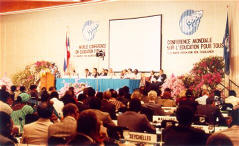 World Conference Education for All, 1990