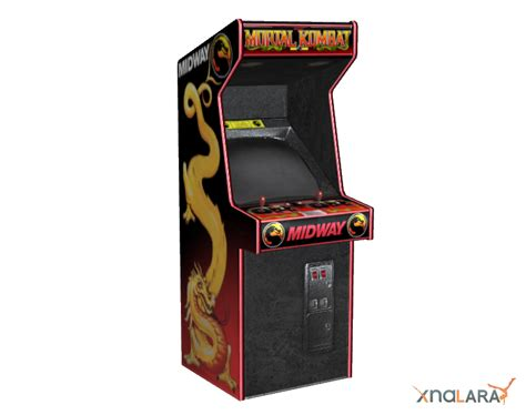 Mortal Kombat Arcade Machine by Recapitulative Of The Additional Objects For Xnalara