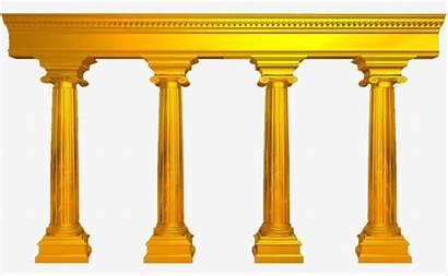 Casamento Pillar Pilares Clipart Quatro Os Pillars
