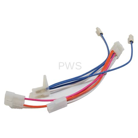 ipso 510530 dryer asy wiring harn gas valv svc commercial ipso laundry parts