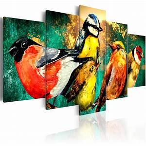Leinwand Xxl Kaufen : leinwand bilder xxl kunstdruck wandbild vogel tier wie gemalt g a 0110 b m ebay ~ Whattoseeinmadrid.com Haus und Dekorationen