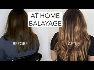 How To Balayage Your Hair At Home
