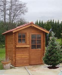 Cabanon En Bois : cabanon bois jardin images ~ Premium-room.com Idées de Décoration