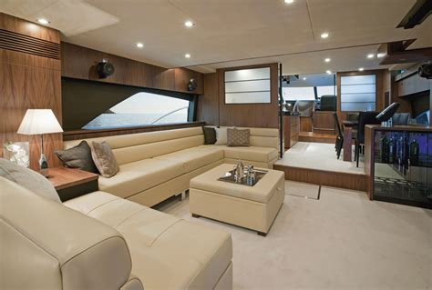Upholstery Pictures by Fairline S Squadron 78 Custom Yacht Interior Yacht