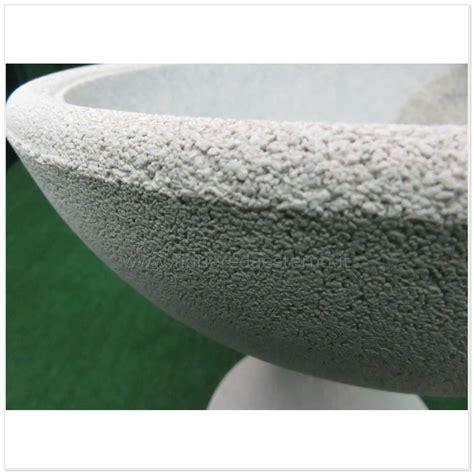 vasi in cemento da giardino vasi in cemento ciotole lisce 0307017 poroso cemento poroso
