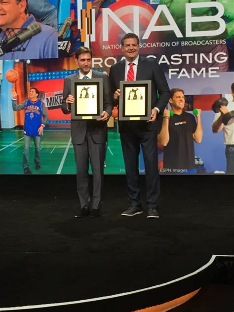 Mike & Mike hosts inducted into NAB Hall Of Fame - ESPN ...