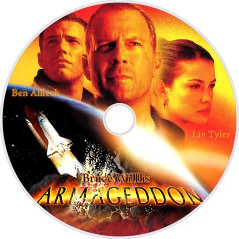 Armageddon Movie DVD Cover