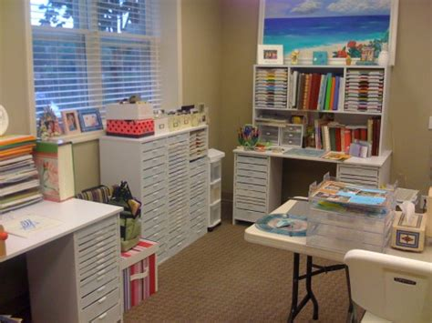 bureau scrapbooking bureau contemporain craft room for scrapbooking