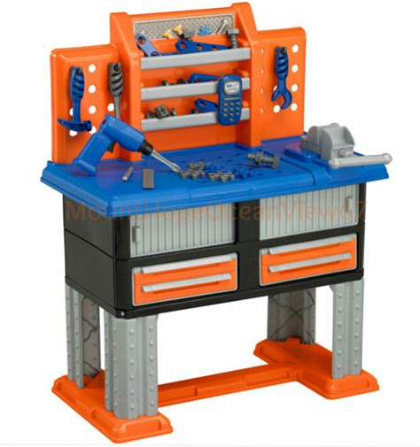 Boys Work Bench - work bench toddlers pretend play set tools