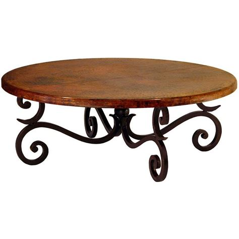 Copper Collection  Round Fountain Coffee Table Cof88r