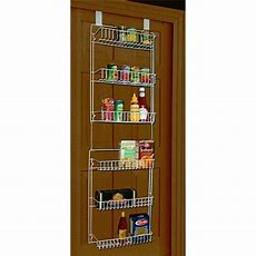 Over The Door Storage Rack Organizer Hanging Pantry