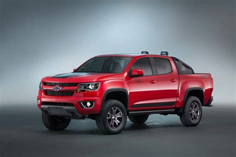 Chevrolet Colorado Z71 Trail Boss 3.0 Concept Is A Ford F