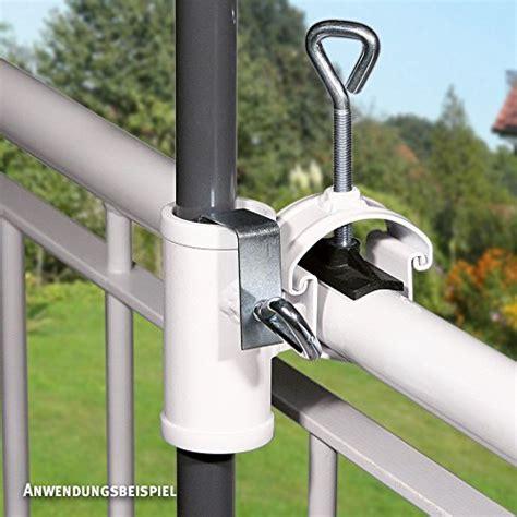 sonnenschirm halterung balkon balkon sonnenschirm mit halterung schnaeppchen center