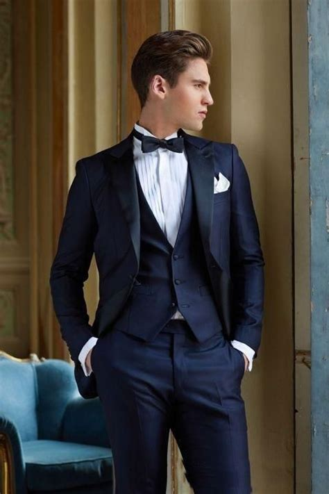 We offers cheap mens navy suit products. >> Click to Buy