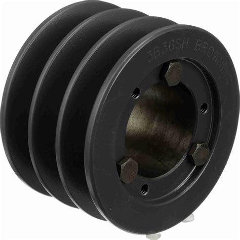 browning bsh fixed pitch pulley  grooves