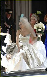 The Wedding Dress Sex And The City Carrie Bradshaw Wedding ...