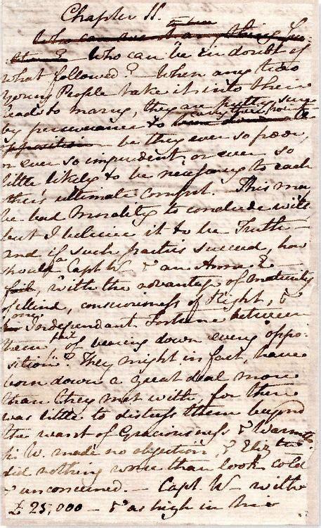 Jane Austen's original manuscript of Persuasion | Pride