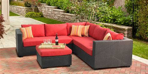 polystyrene patio furniture collection the plaza costco