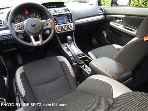 subaru crosstrek premium gray cloth seats silver