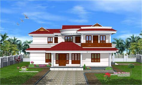 double storey house design  kerala home kaf