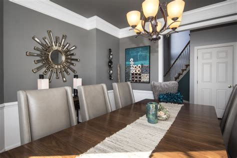 B. Chic Interiors » Modern Coastal Dining Room In Columbia