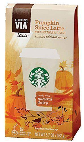 Starbucks Via Ready Brew Pumpkin Spice 5 Single Serve Packets (762111925190)   ToolFanatic.com