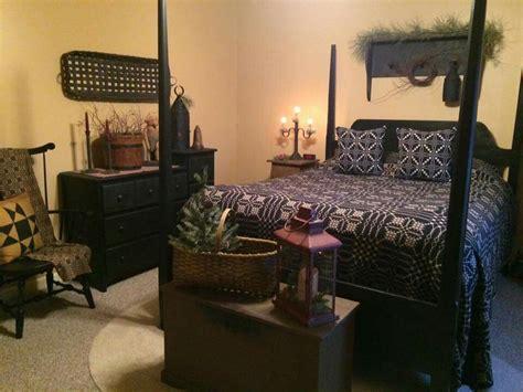 Primitive Styled Bedroom  Primitive Decor Pinterest