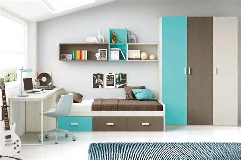 lit avec bureau pour fille chambre moderne ado et avec lit 3 coffres glicerio