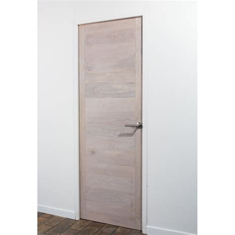 STICK DOOR Chêne finition Blanc Coton Stickwood La