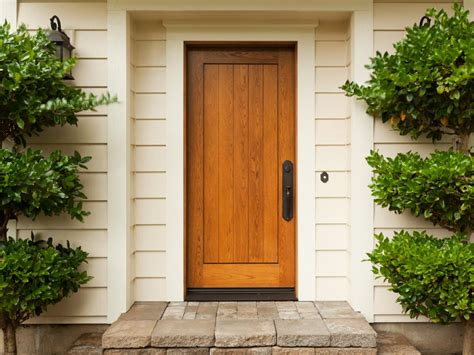 The Pros And Cons Of A Wood Front Door Diy