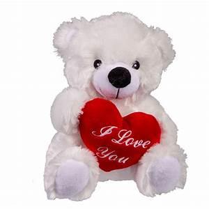 Ours En Peluche : ours en peluche i love you avec c ur rouge entre les pattes sur rapid cadeau ~ Teatrodelosmanantiales.com Idées de Décoration