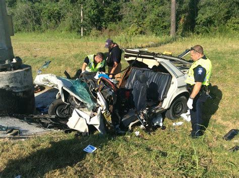 man dies single car crash league road courier
