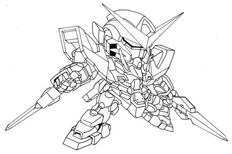 Coloring Gundam by Sd Gundam Coloring Pages Gd Coloring Pages Gundam Color