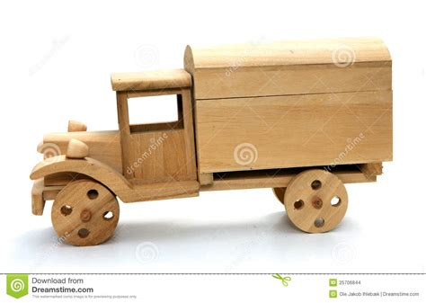 wooden toy truck stock photo image  simple lorry