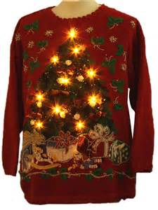 lightup sweater jacque koko unisex