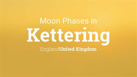 moon phases  lunar calendar  kettering england