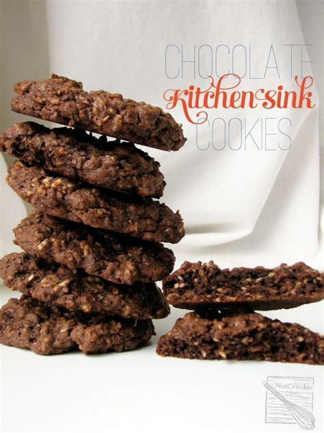 Chocolate Kitchen Sink Cookies
