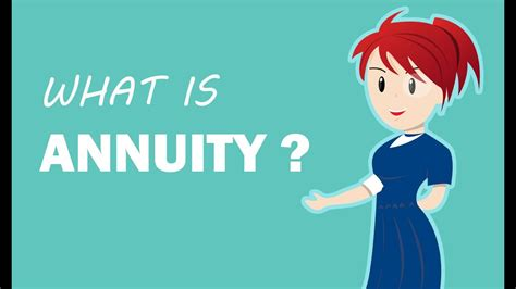 annuity types  annuities retirement planning