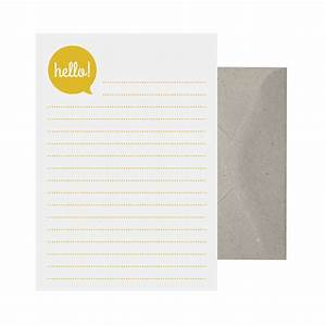 writing set hello note paper note writing set letter With letter writing paper sets