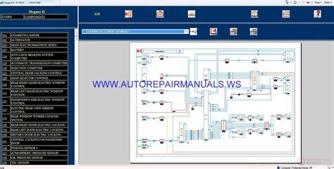 renault megane ii x84 nt8275 disk wiring diagrams manual