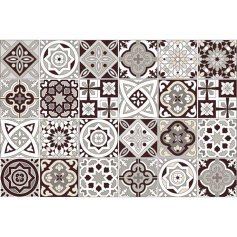 stickers carrelage carreaux de ciment 24 stickers carreaux de ciment amazonas salle de bain et wc salle de bain ambiance sticker