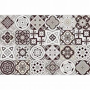 Stickers Carreaux De Ciment : 24 stickers carreaux de ciment amazonas cuisine ~ Premium-room.com Idées de Décoration