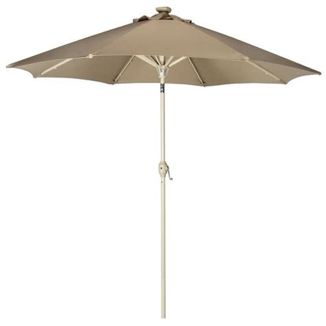 fad ly 9 solar lighted patio umbrella
