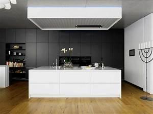 Cuisine gris anthracite 56 idees pour une cuisine chic for Cuisine equipee gris anthracite