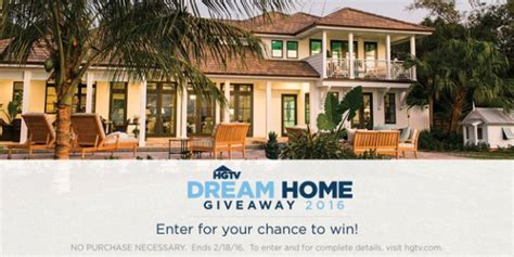 dream home sweepstakes hgtv home giveaway 2016 sweepstakes thrifty momma ramblings