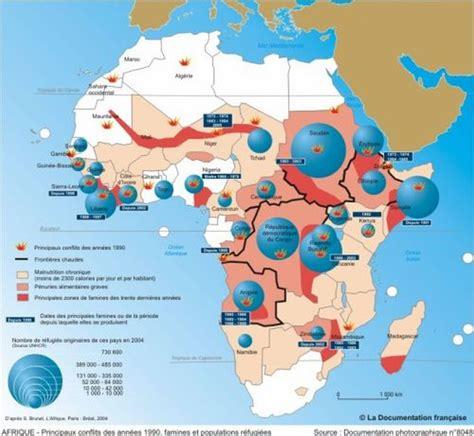 Carte Du Monde Afrique Subsaharienne by Les Causes Internes De La Faim En Afrique Subsaharienne