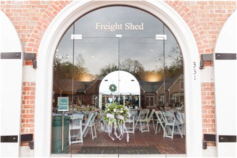 Yorktown Historic Freight Shed by Wren Chapel And Yorktown Freight Shed Wedding