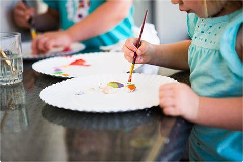 seashell painting  preschoolers steam activity