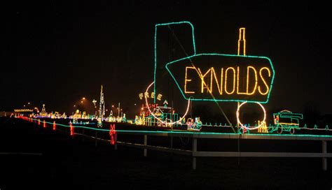 christmas lights fishers indiana indy creek park fork flat grew signs zoo must
